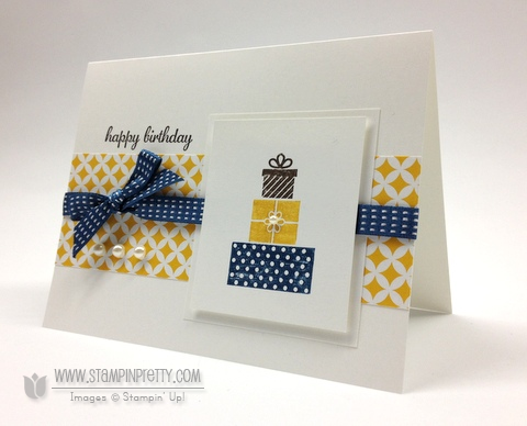 Stampin up stampinup pretty stamp it mary fish birthday card making idea wishing you