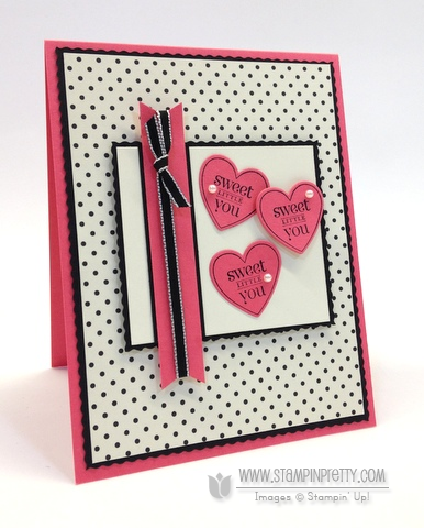 Stampin up stampinup pretty stamp it mary fish modern medley perfectly you hearts a flutter rotary trimmers