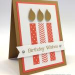"Big, Bold, Birthday Candles ""Four"" You"