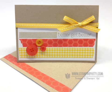 Stampin up stampin up washi tape get well card ideas mary fish order pretty stamp it