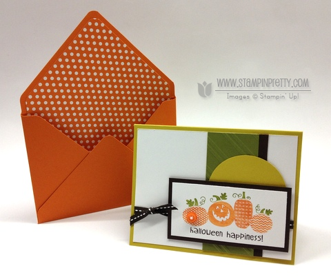 Stampin Up Halloween Happiness Stylish Stripes Embossing Folder Holiday Cards & Ideas Mary Fish Stampin Pretty Stampinup Demonstrator Blog