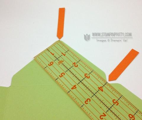 Stampin up stampinup envelope punch board liner tutorial