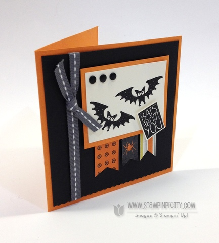 Stampin up stampinup halloween hello envelope punch board liners halloween card ideas order stamp it
