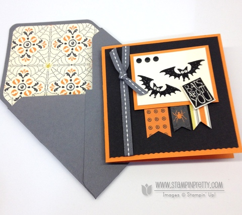 Stampin up stampinup halloween hello envelope punch boards liner halloween card ideas order stamp it