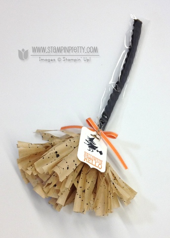 Stampin up stampinup order stamp it pretty halloween hello broom treat idea order licorice