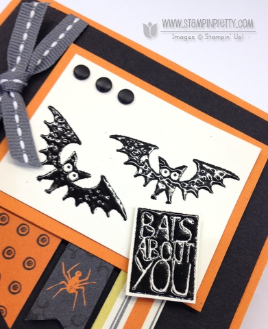 Stampin up stampinup halloween hello envelope punch board liner halloween card ideas orders stamp it
