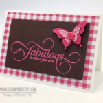 Stampin' Up! Million & One Note Card