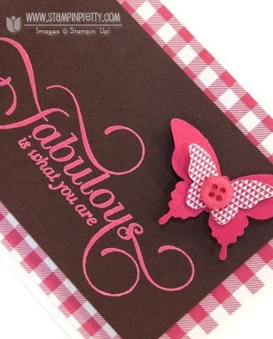 Stampin up stampin up million and & one order mary fish stamp it pretty envelope liner bitty butterfly punch