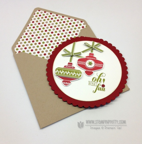 Stampin up stampinup stamp it pretty order holiday card making ideas christmas collectible message punch