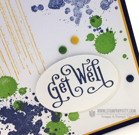 Stampin up stampinup stampin it pretty buy orders gorgeous grunge get well card idea