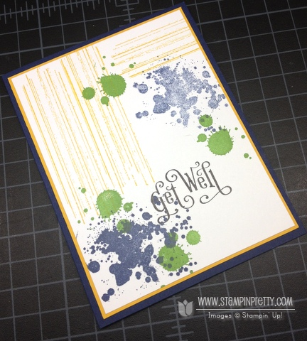 Stampin up stampinup stampin it pretty buy order gorgeous grunge get well card ideas