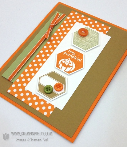 Stampin up stampinup stamp it buy order pretty six sided samplers perfectly you hexagon punch halloween card idea