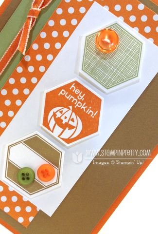 Stampin up stampinup stamp it buy order pretty six sided sampler perfectly you hexagon punch halloween cards idea