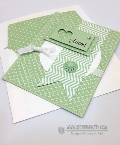 Stampin up stampinup envelope liner framelits die order buy pretty heart a flutter six sided sampler