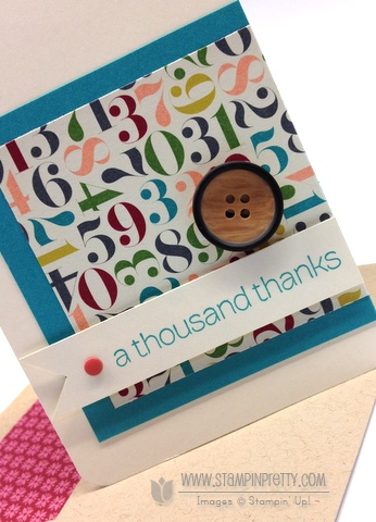 Stampin up stampinup order buy stamp it pretty simple card idea lots of thank you birthday basic