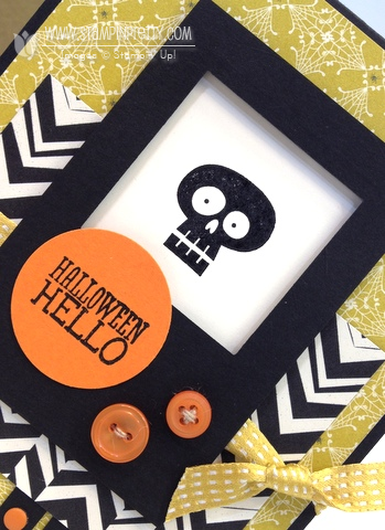 Stampin up stampinup stamp it pretty halloween hello card ideas mojo monday mary fish