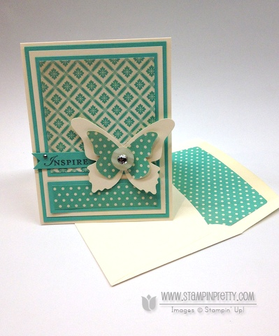 Stampin up stampinup stamp it pretty buy order beautiful butterfly die envelope liners framelit