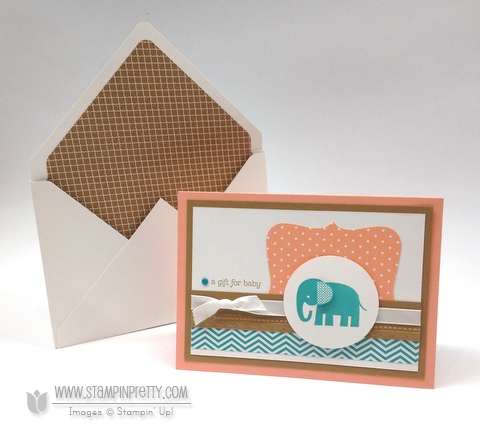Stampin up stampinup mary fish stamp it pretty zoo babies baby card idea top notes die punch big shot