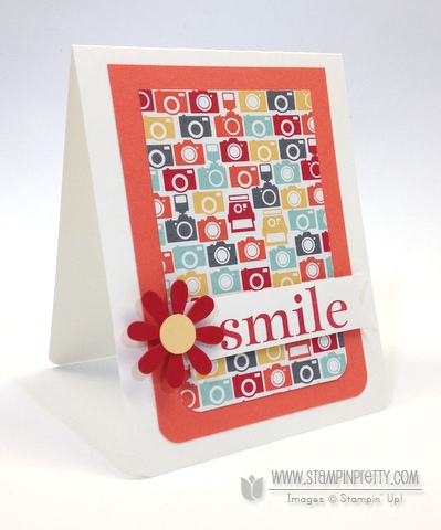 Stampin up stampinup mary fish stamp it pretty happy day catalog free punch envelope liners framelits die
