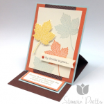 Magnificent Maple Sympathy Card