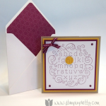 """Saying """"Hi"""" to the Stampin' Up! Alphabetized Stamp!"""