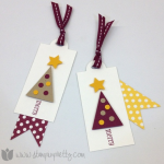 Festive Color Twist on Holiday Tags