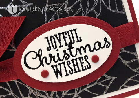 Stampin up stampinup pretty mary fish order online joyful christmas holiday card ideas poinsettias