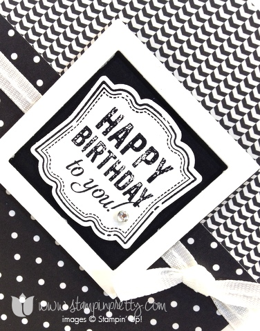 masculine happy birthday card stampin pretty