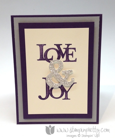 Stampin up stamp it mary fish order pretty love & and joy holiday christmas stamp set ideas holidays catalog