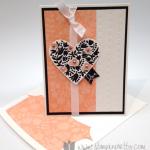 Flowerfull Heart Card for Valentine's Day!  Plus Sneak Peeks!