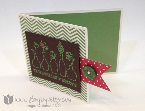 Stampin up stamp it up mary fish stampin pretty vivid vases cards diy making ideas occasions catalog free