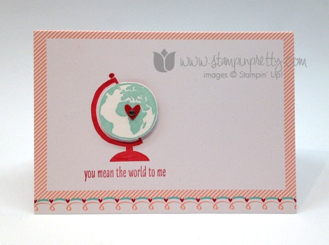 Stampin up pretty order mary fish valentine day simple card idea whole lot of love flowerfull you more