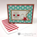 Make a Wish for Stampin' Up! Perfect Pennants!