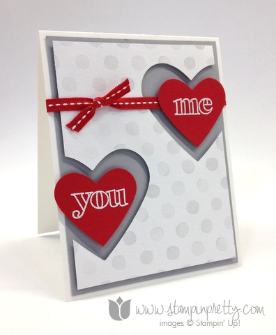 Stampin up countless sayings 1 2 valentines day card ideas diy heart framelits punch watercolor wonder stamp it