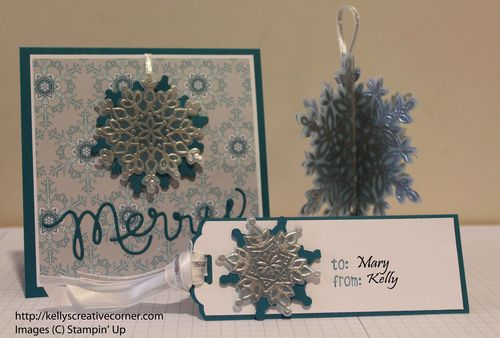 Mary's Guest Christmas Card-Tag-Ornament