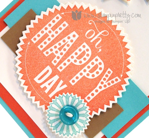 Stampin up pretty order mary fish stamp it starburst sayings framelits dies big shot banner punch blast card ideas