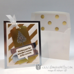 Stampin' Up! with Mixed Metals