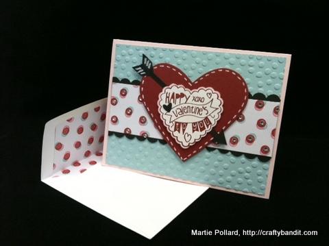 Stampin up martie valentine card martie-001