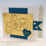 "In ""Love"" with Stampin' Up! Countless Sayings 1"