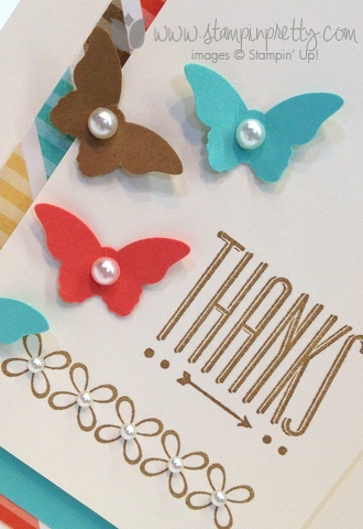 Stampin up mary fish order stamp it pretty hip notes youre lovely saleabration free catalogs thank you handmade card
