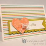 A Simple Sale-A-Bration Hello Card