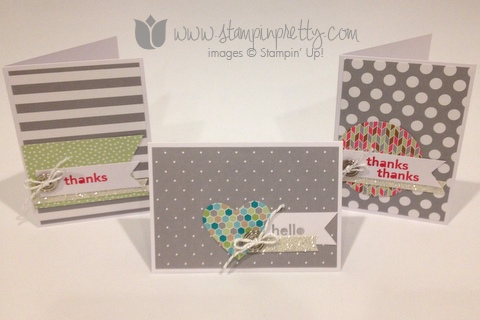 Stampin up stampin it pretty mary fish saleabration thank hello handmade card free catalog