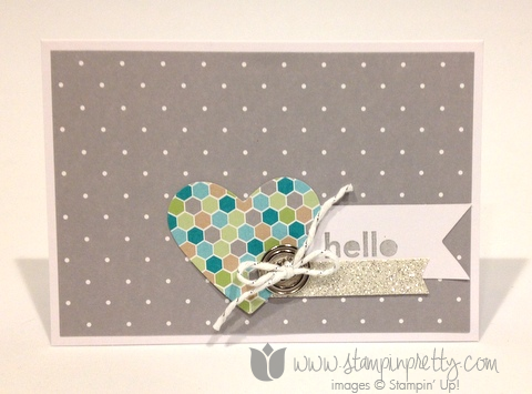 Stampin up stamp it pretty mary fish saleabration thank hello handmade card free catalog