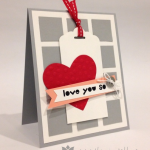 Stampin' Up! One More Valentine Card