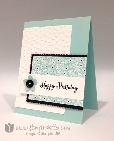Stampin up stamp it pretty mary fish sweet sorbet remembering your birthday card ideas