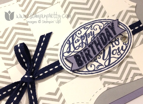 Stampin up stamp it up stamping mary fish pretty best of birthdays card idea masculine oval punch top note die