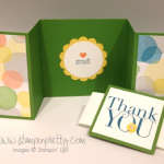 Simple Z-Fold Thank You Card