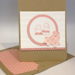 Stampin' Up! Card for a New Baby Girl!