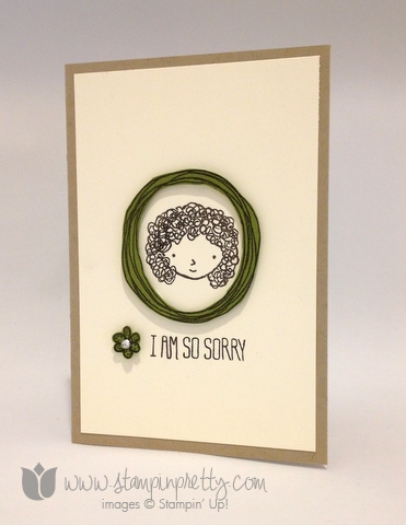 Stampin up stamping stamp it pretty mary fish sweetie pie frames card ideas demonstrator blog