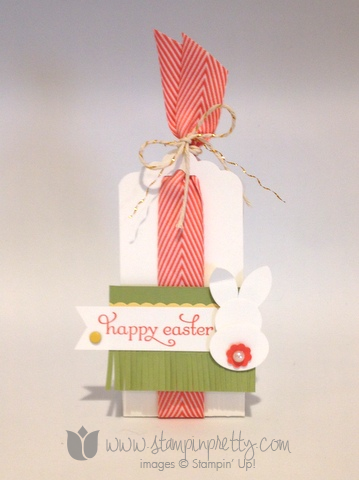 Stampin up stamp it stamping mary fish pretty cadbury egg treat holder video tutorial easter ideas